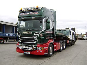 Scania R730 150 ton Heavy Haulage Tractor
